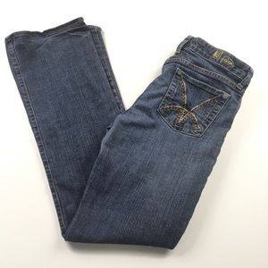 KUT Bootcut Mid Rise Stretch Jeans Sz 8